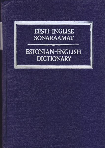 Paul F. Saagpakk Eesti-inglise sõnaraamat = Estonian-English dictionary