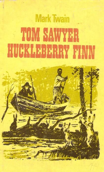 tom sawyer huckleberry finn mark twain antikvariaat. Black Bedroom Furniture Sets. Home Design Ideas
